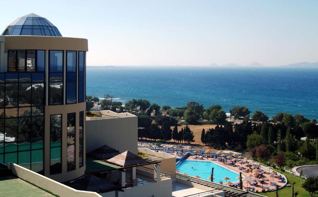 A view of the pool at Kipriotis Panorama Hotel & Suites or nearby