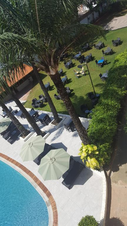 A view of the pool at Riviera Taouyah Hotel or nearby
