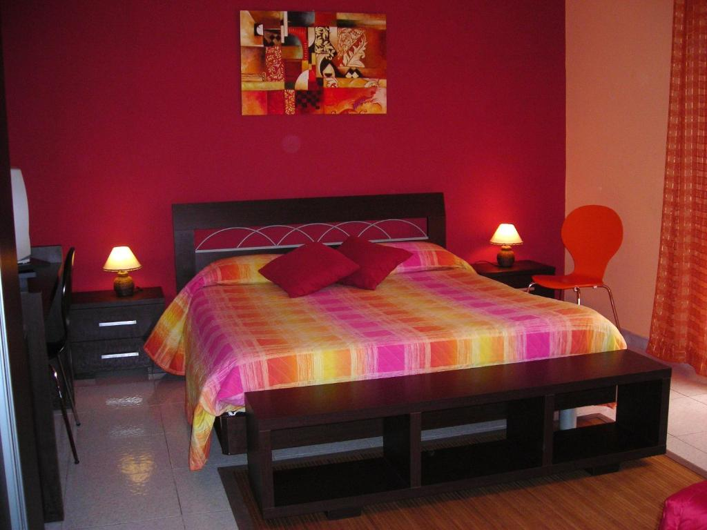 A bed or beds in a room at B&B CasAnsaldo