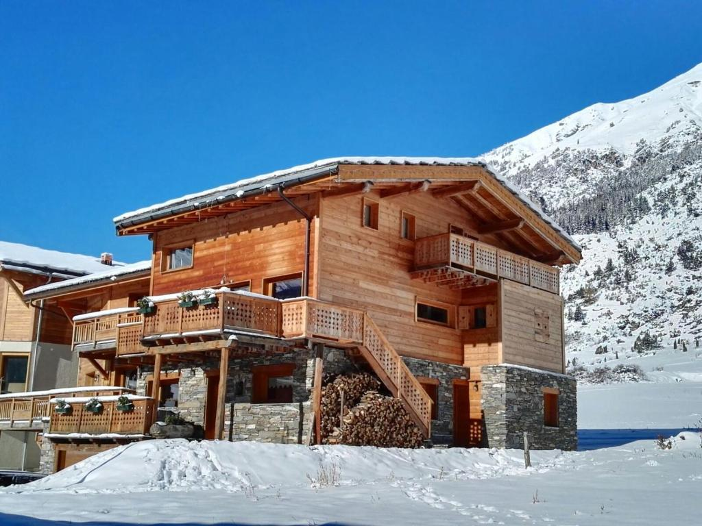Chalet Ciamarella during the winter