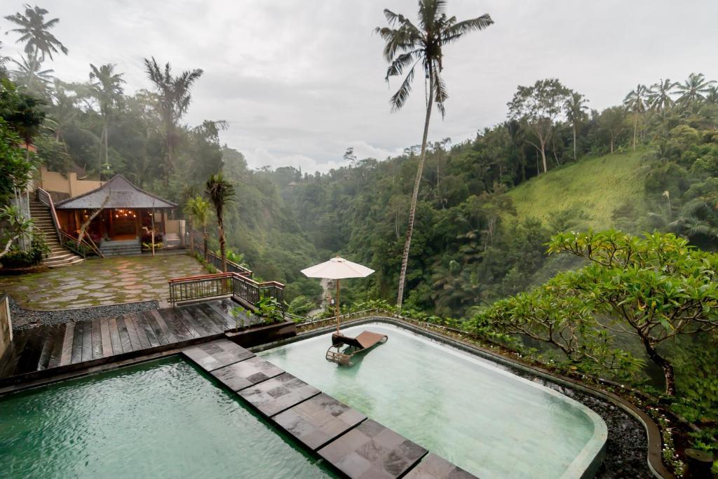 Piscina en o cerca de Ulun Ubud Resort