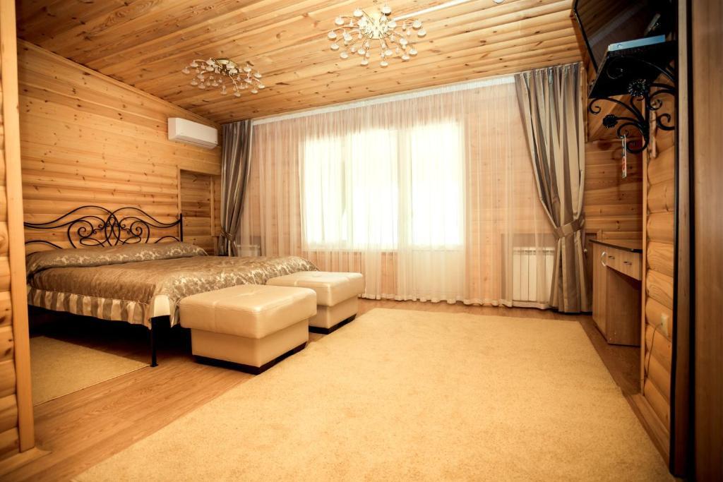 Гостиная зона в Resort Forelka