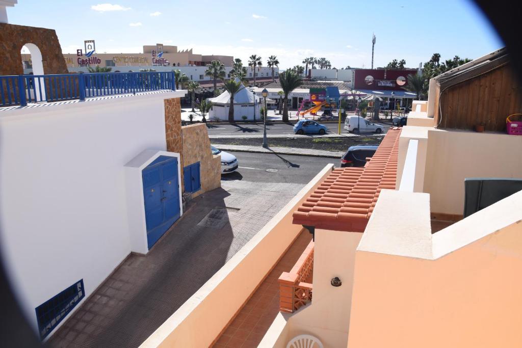 Un balcón o terraza de Duplex Alcalde Juan Evora