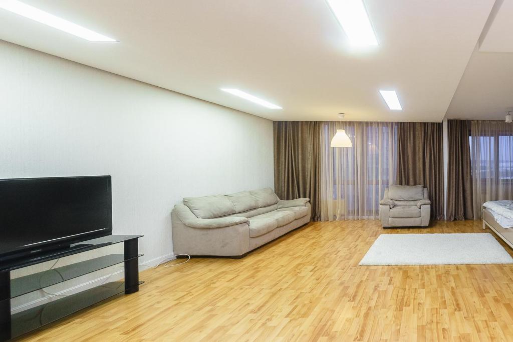 Гостиная зона в Apartment on pr-t Lenina 148