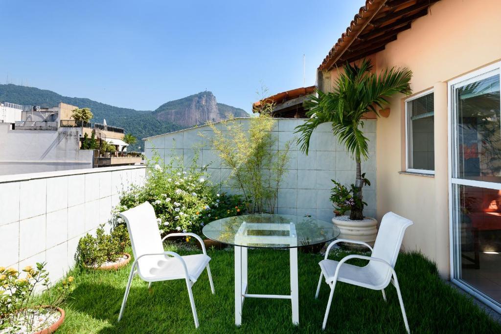 Uma varanda ou terraço em Deliciosa Cobertura em Ipanema!!!!!
