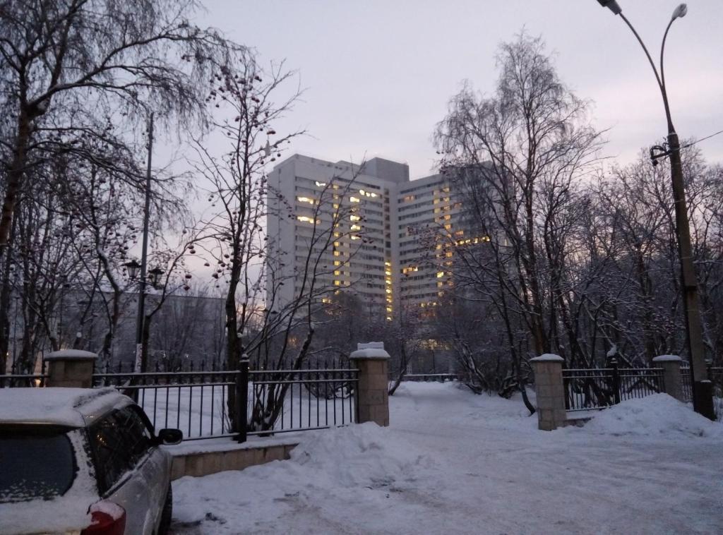 Grandvill Apartments at the Centre зимой