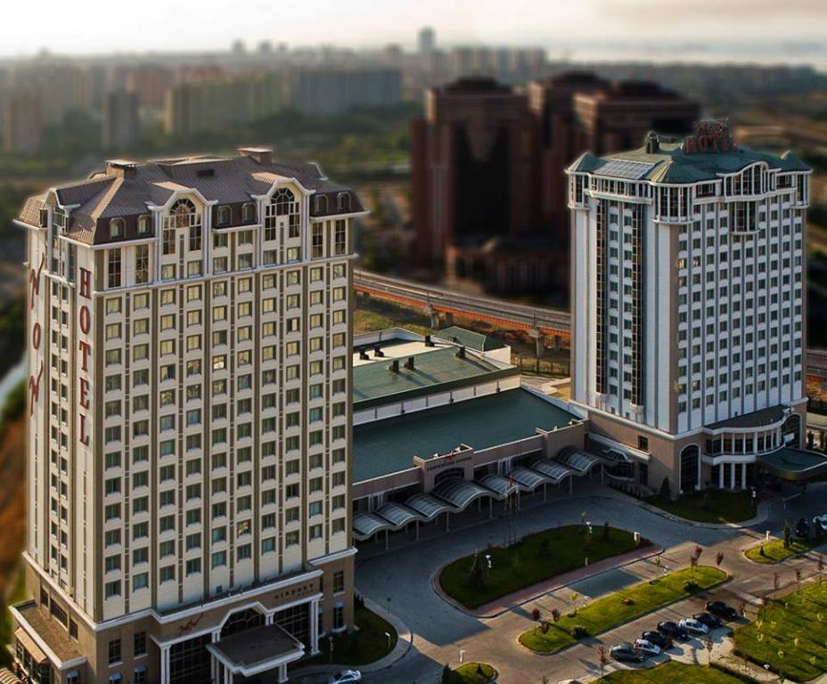A bird's-eye view of WOW Istanbul Hotel
