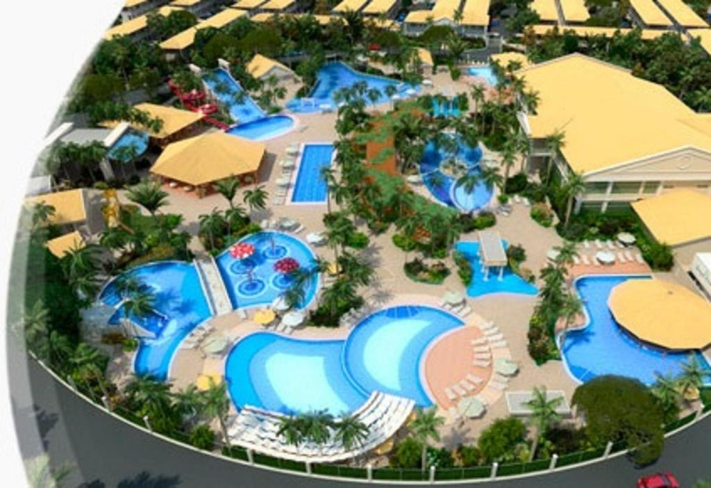 Uma vista da piscina em Lacqua Diroma Apartment ou nos arredores