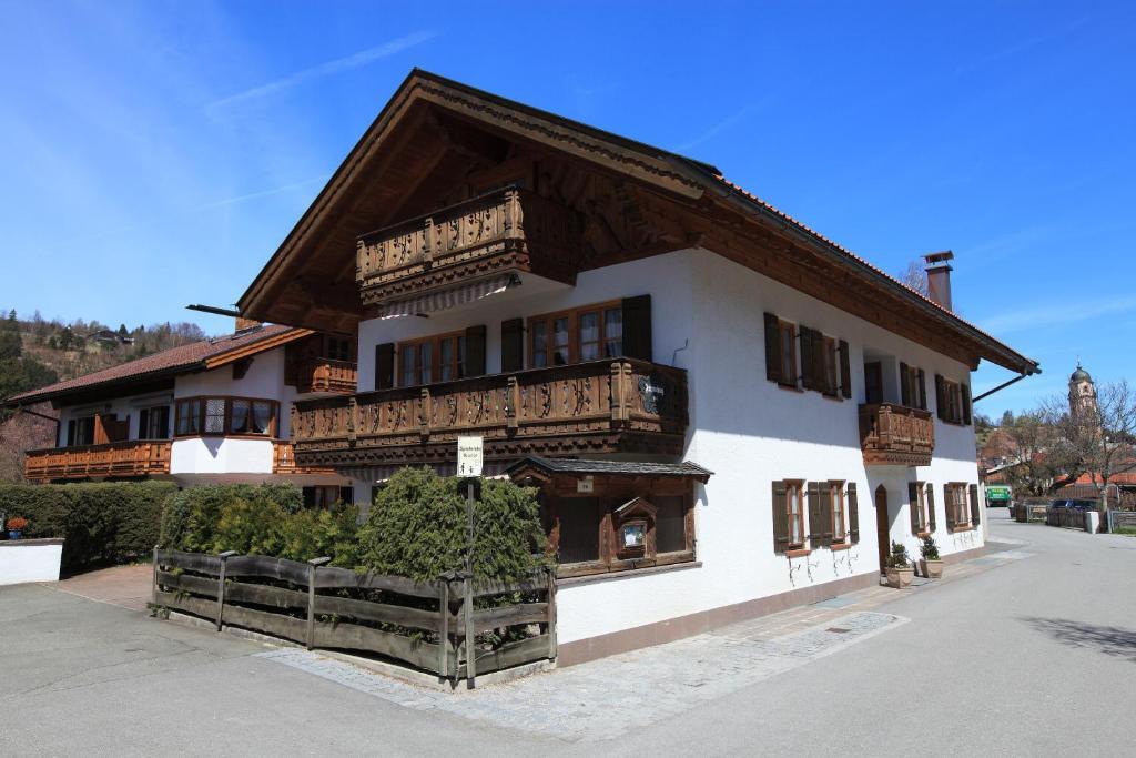 Ferienhäuser Werdenfels im Winter