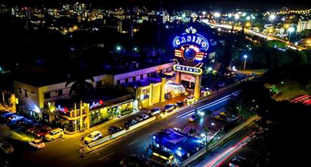 A bird's-eye view of Matum Hotel & Casino