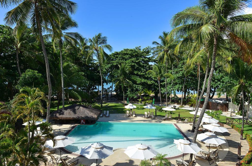 Uma vista da piscina em Iara Beach Hotel Boutique ou nos arredores