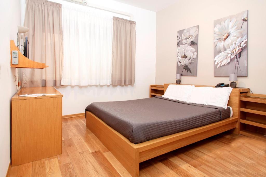 Letto o letti in una camera di Hotel Del Viale