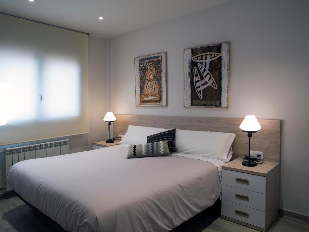 Cama o camas de una habitación en Cal Negri