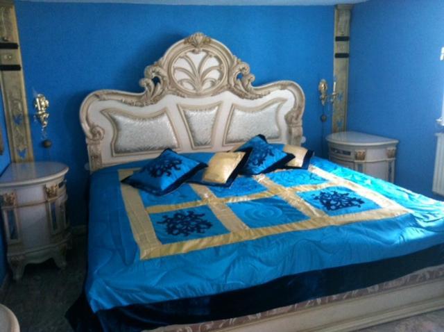 Ein Bett oder Betten in einem Zimmer der Unterkunft Braustübchen