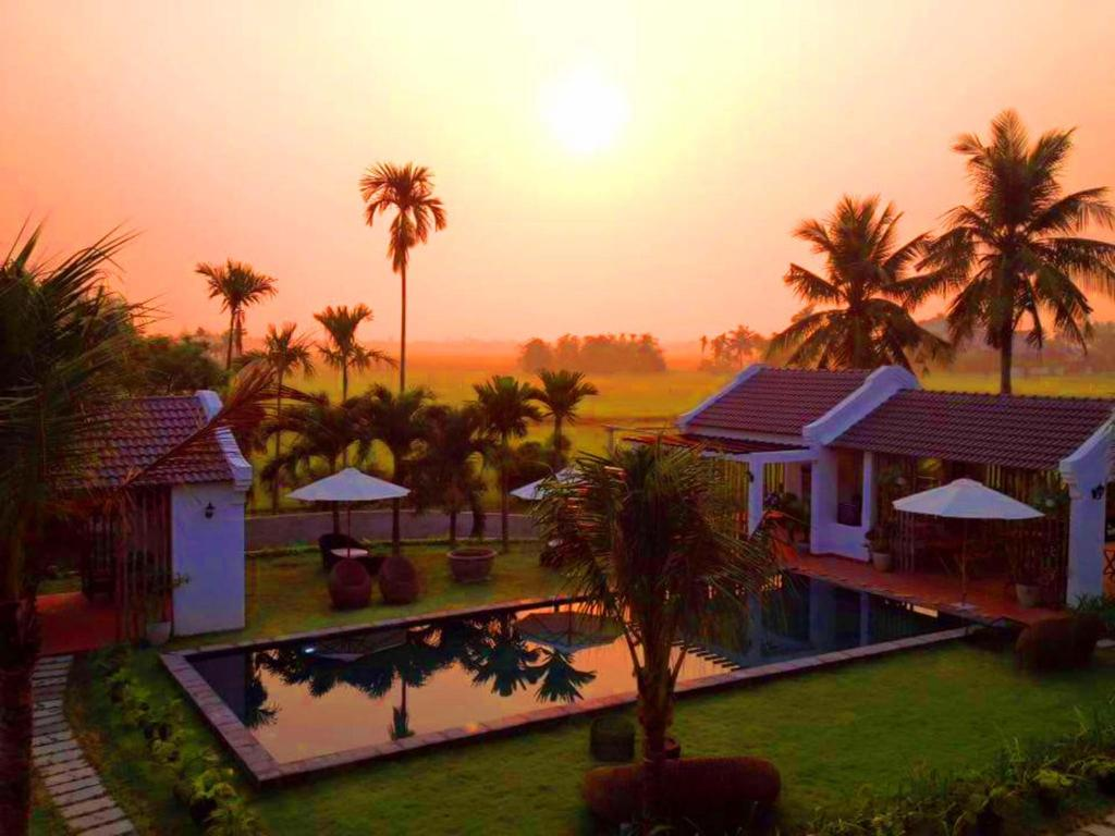 Vista de la piscina de GEM Hoi An Villa o alrededores