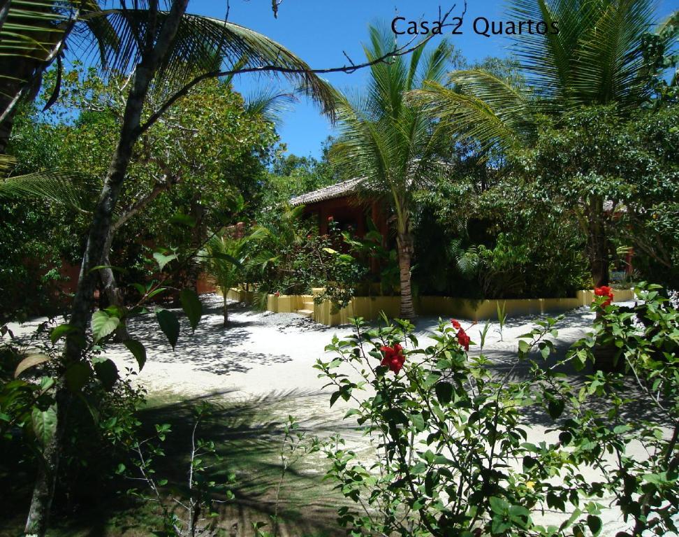 Um jardim em Condominio dos Nativos