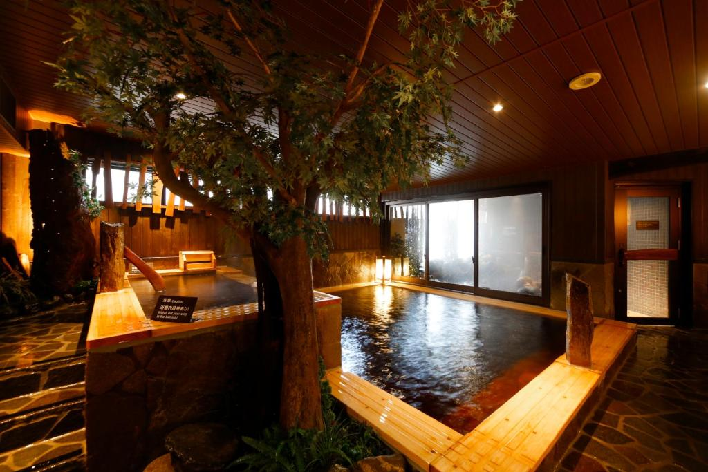 The swimming pool at or near Dormy Inn Toyama Natural Hot Spring
