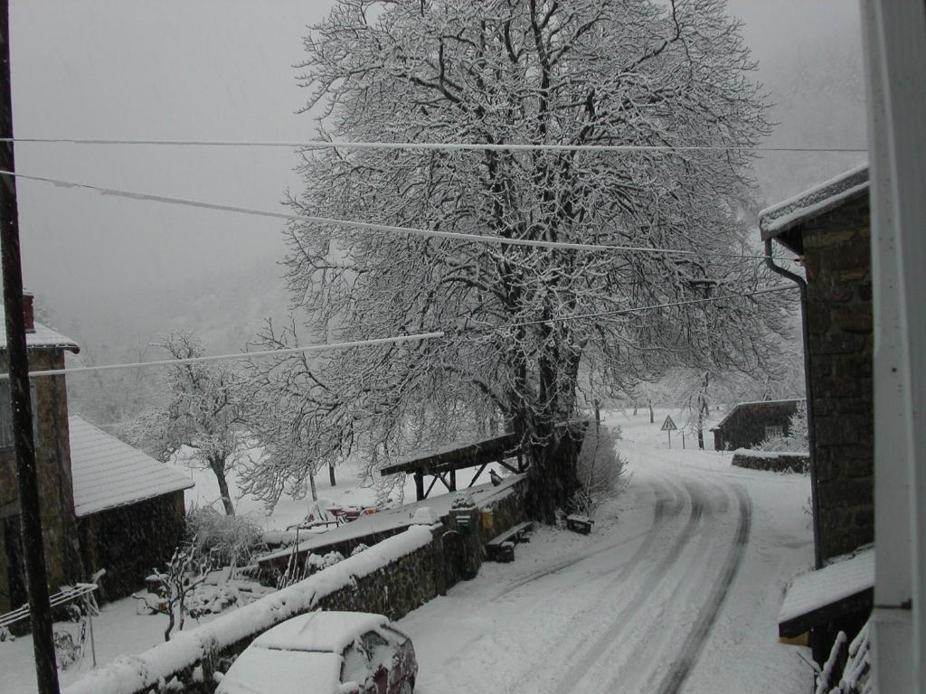 L'établissement Gite Deux-Eaux en hiver