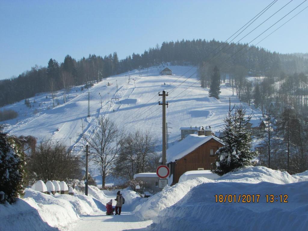 Privát Saxán зимой