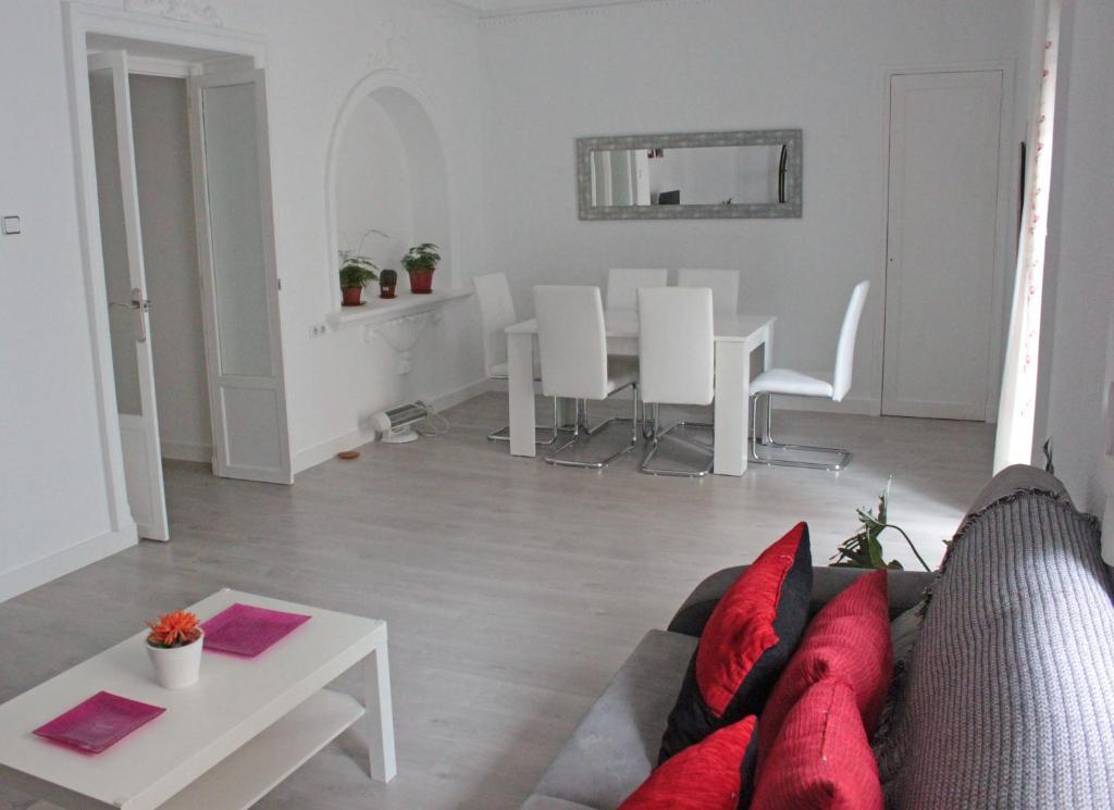 Zona de estar de Apartamento Luceros
