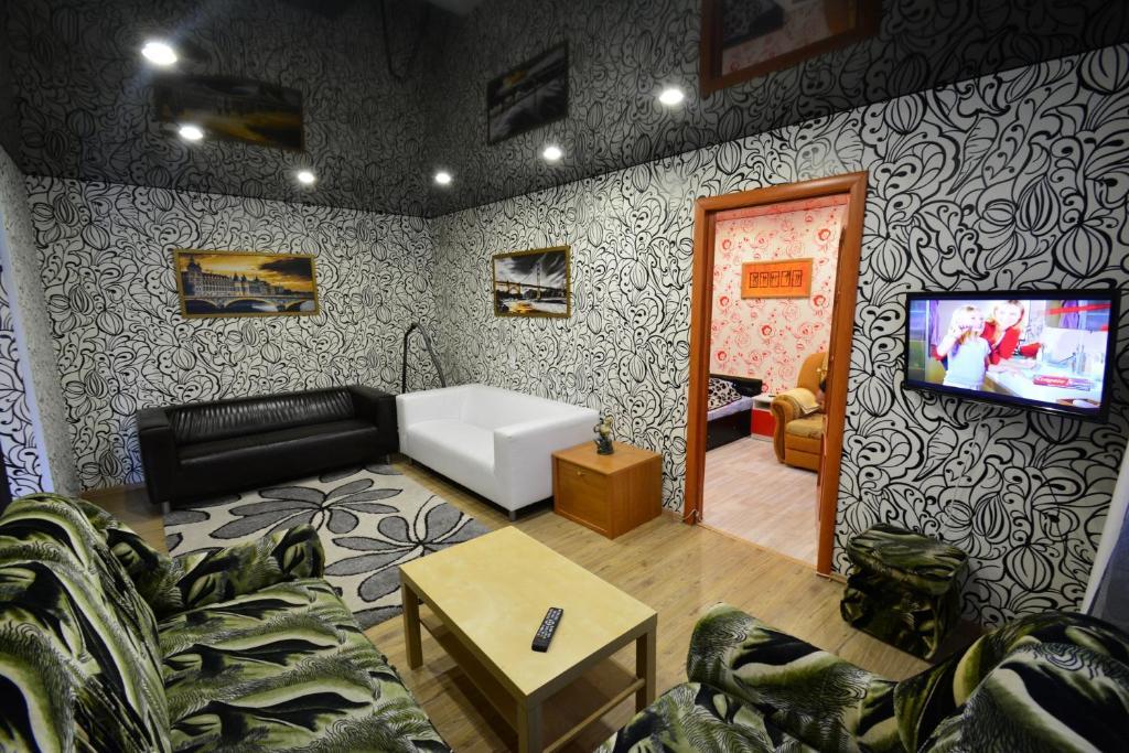 Гостиная зона в Apartment on Bredova 3