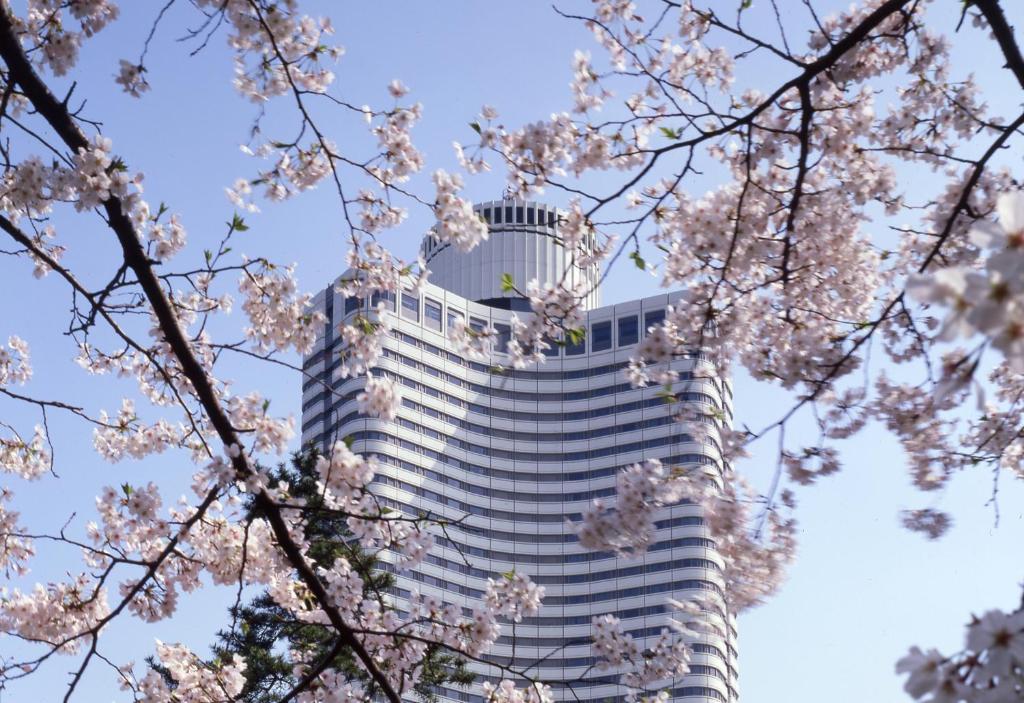 The Hotel New Otani Tokyo Garden Tower.