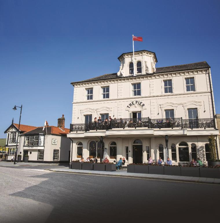 The Pier Hotel in Harwich, Essex, England