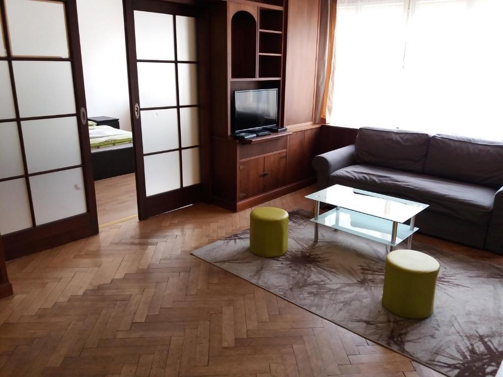 Area soggiorno di Apartments Tronicek