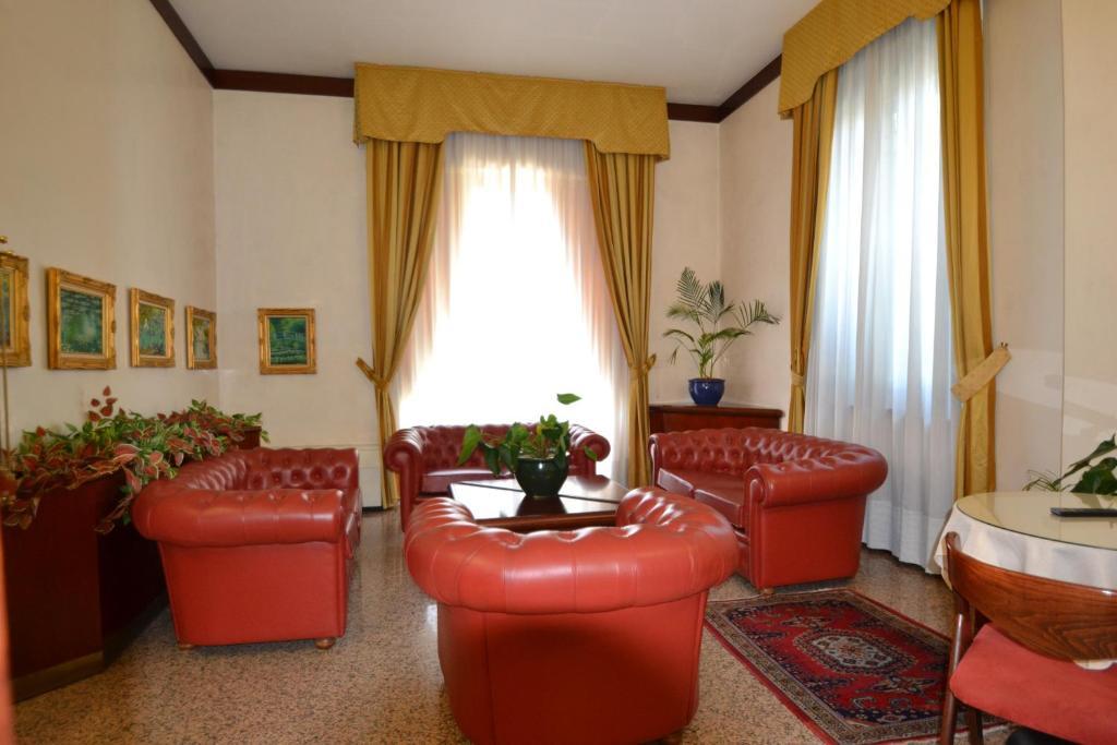 Zona de estar de Hotel Residence