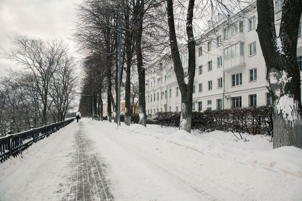 Flat76 Volzhskaya Naberezhnaya 61 зимой