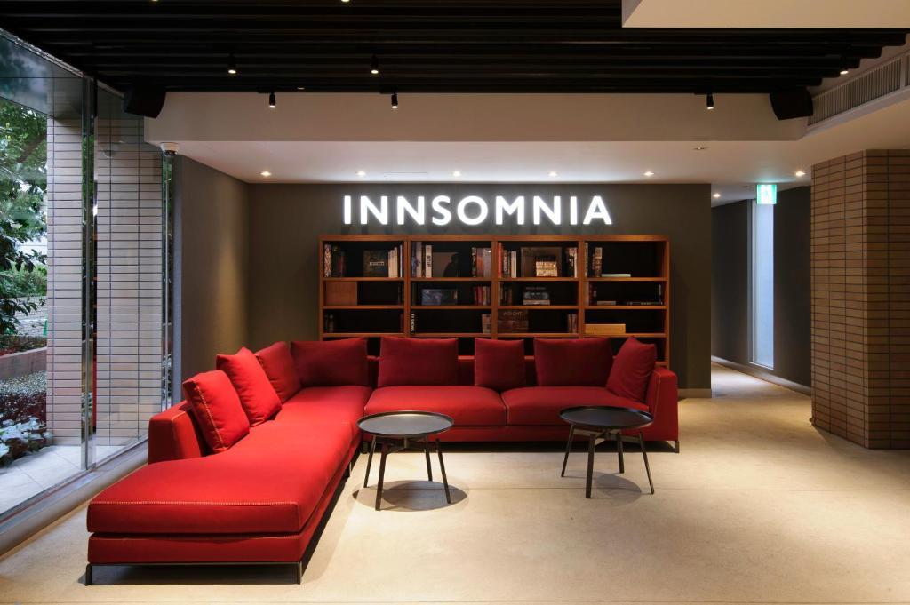 The lobby or reception area at INNSOMNIA akasaka
