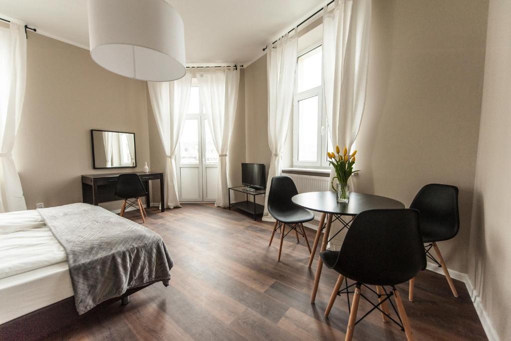 Część wypoczynkowa w obiekcie Vistula Apartments