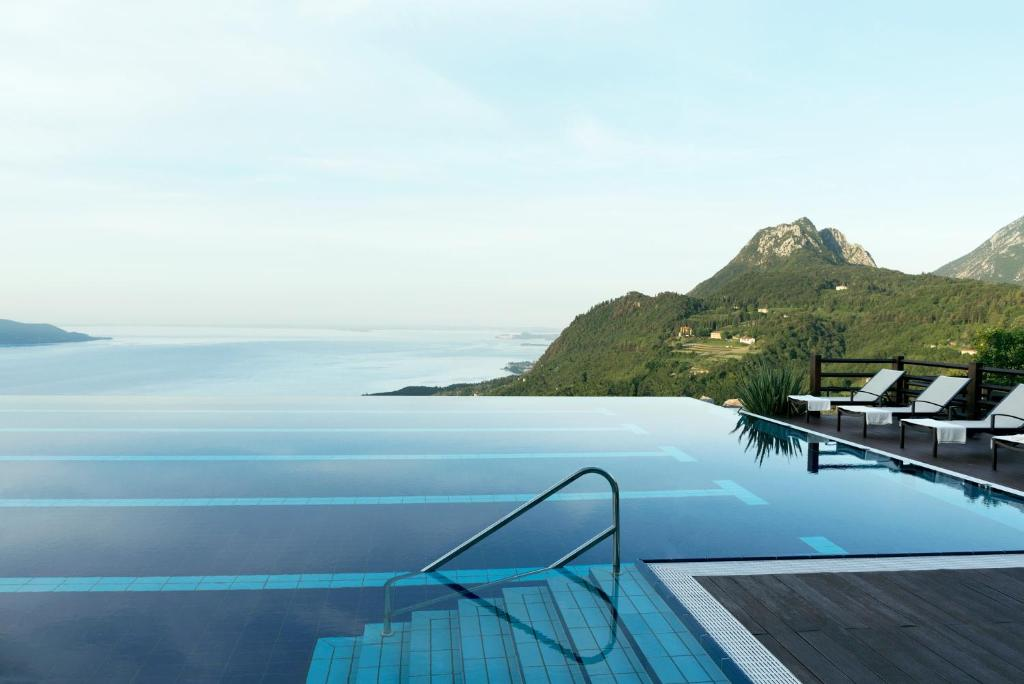 The swimming pool at or near Lefay Resort & Spa Lago Di Garda