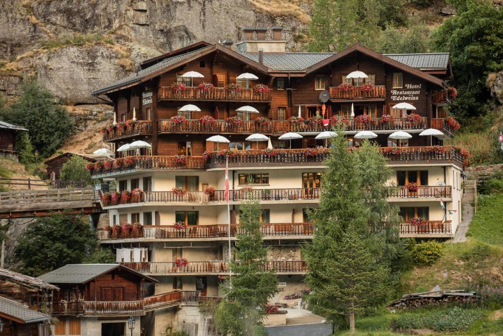 Hotel Edelweiss Blatten im Lotschental, Switzerland