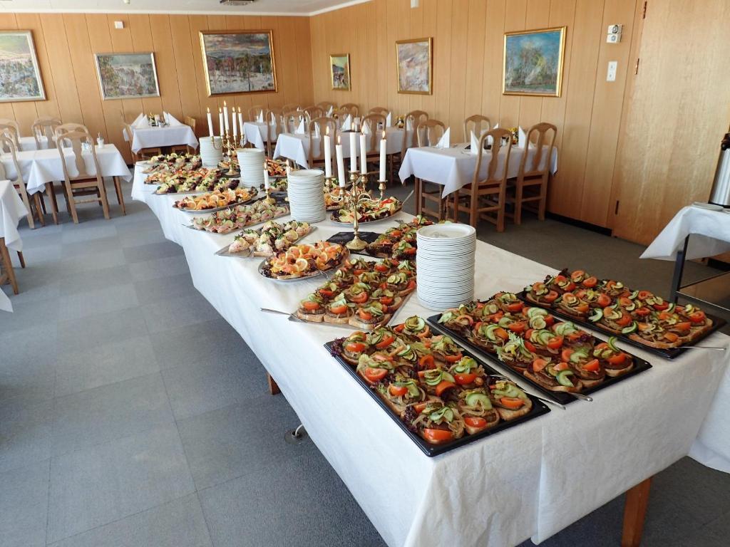 En restaurant eller et spisested på Rondane Haukliseter Fjellhotell