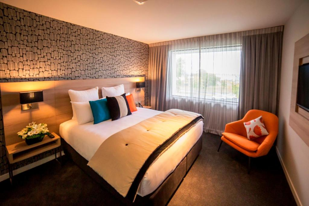 A room at the Sudima Hotel Christchurch Airport.