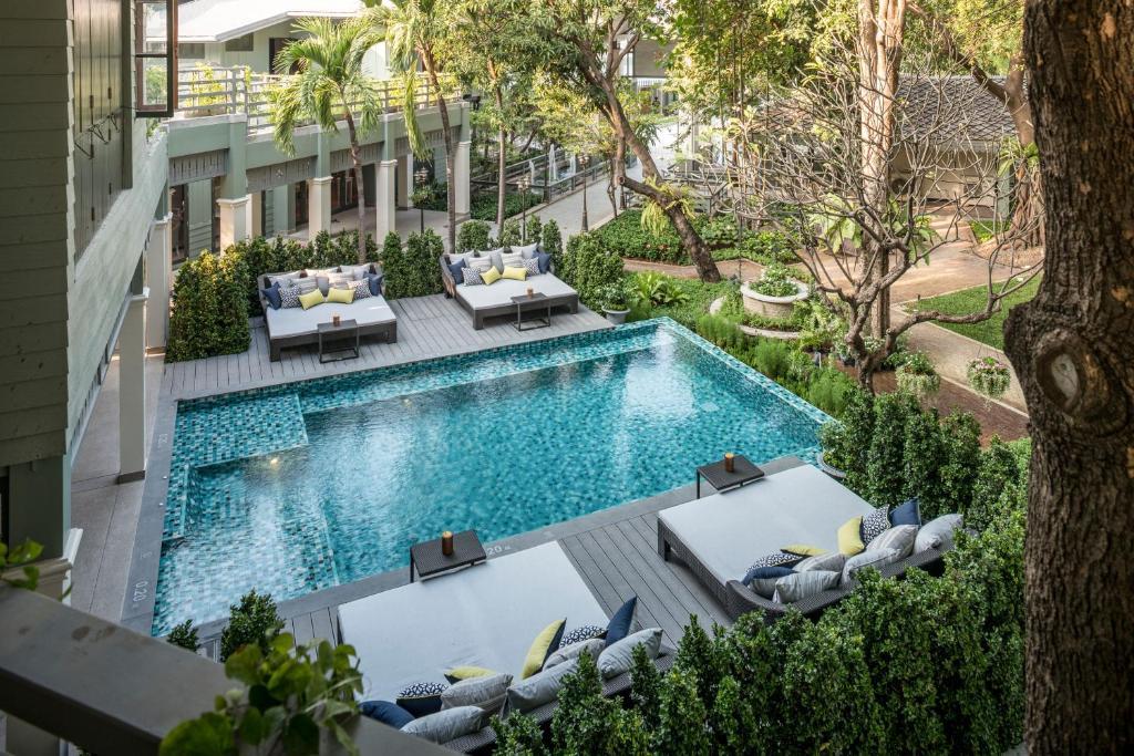 A view of the pool at The Raweekanlaya Bangkok or nearby