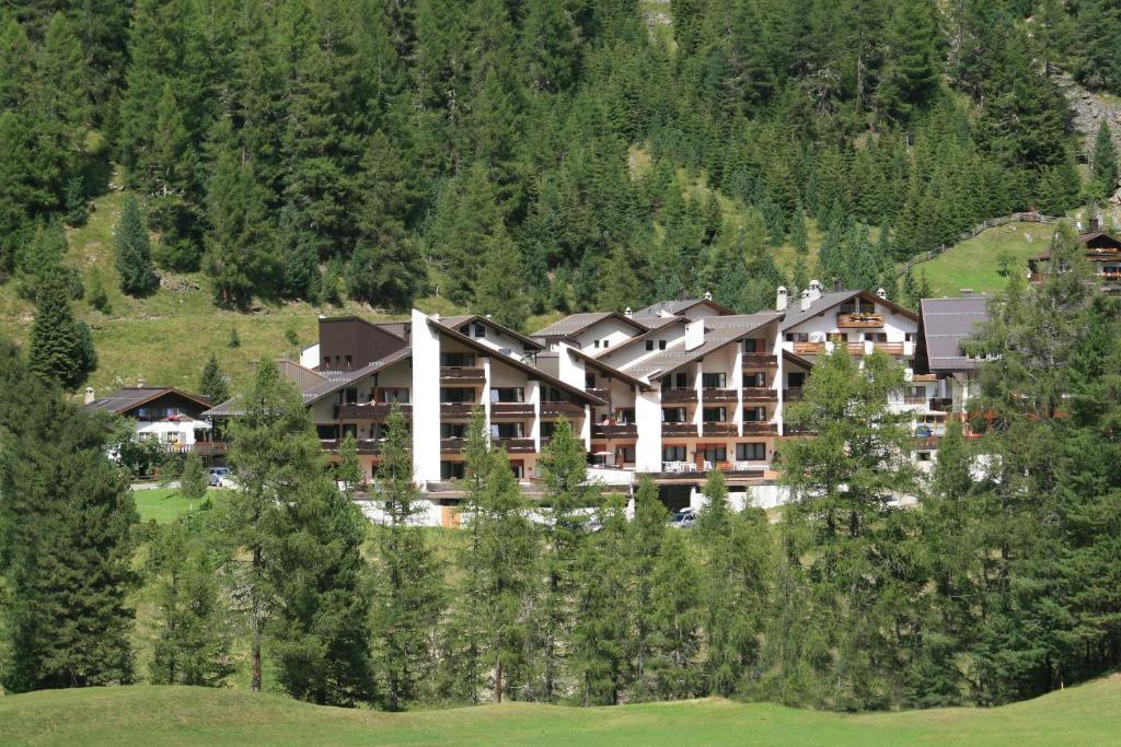 Vista aerea di Alpina Residence