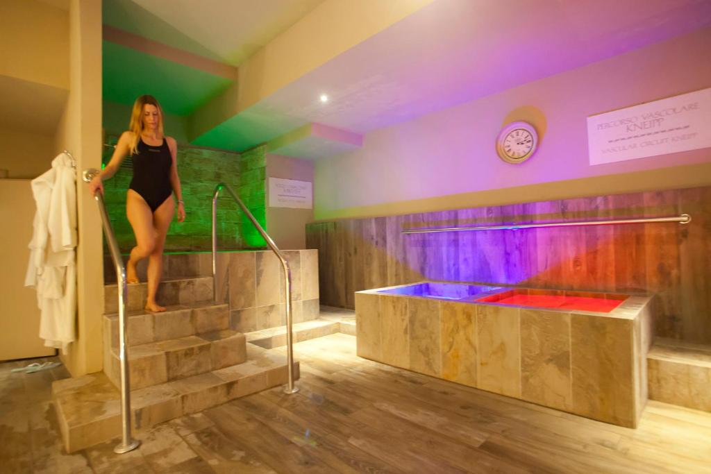 Spa and/or other wellness facilities at Ròseo Euroterme Wellness Resort