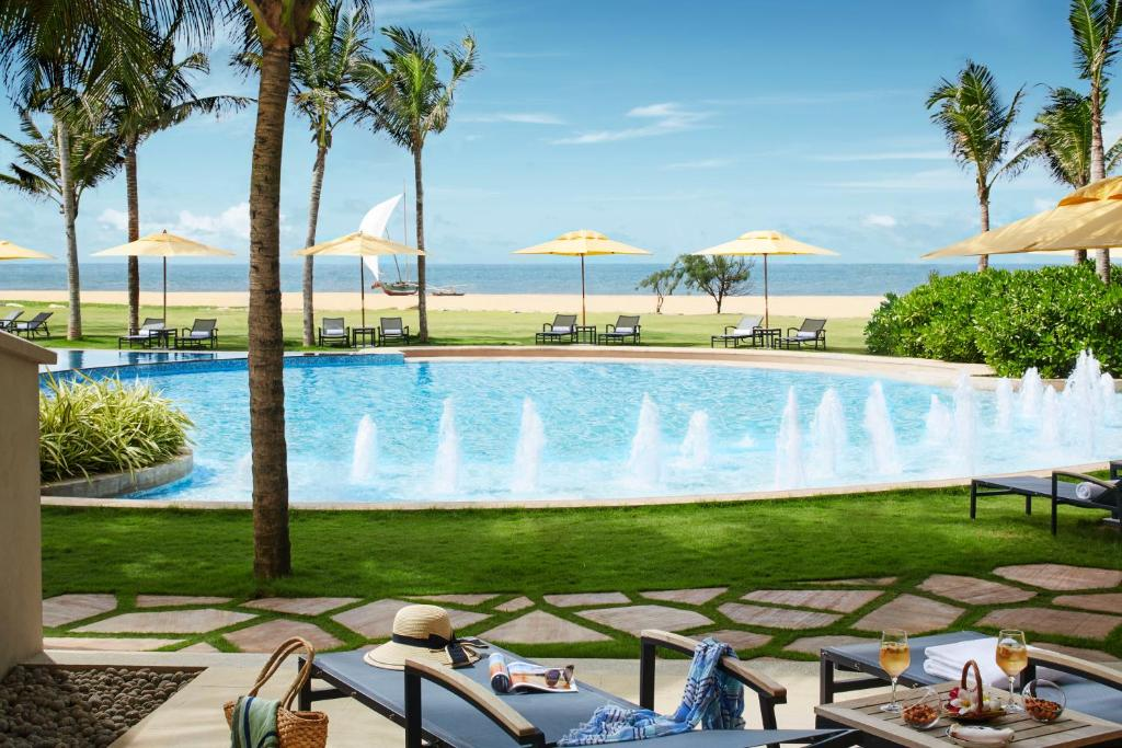 The swimming pool at or near Heritance Negombo - Level 1 Certified