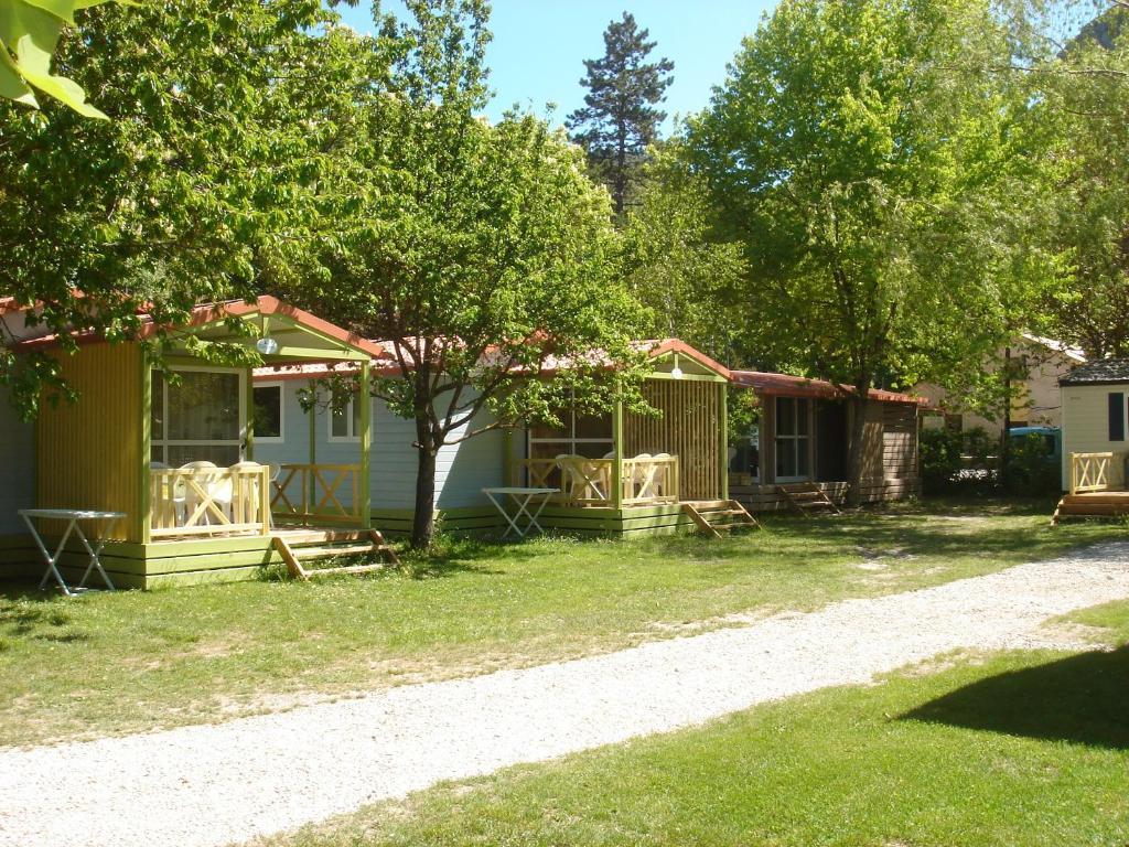 Camping Frederic Mistral Castellane, France