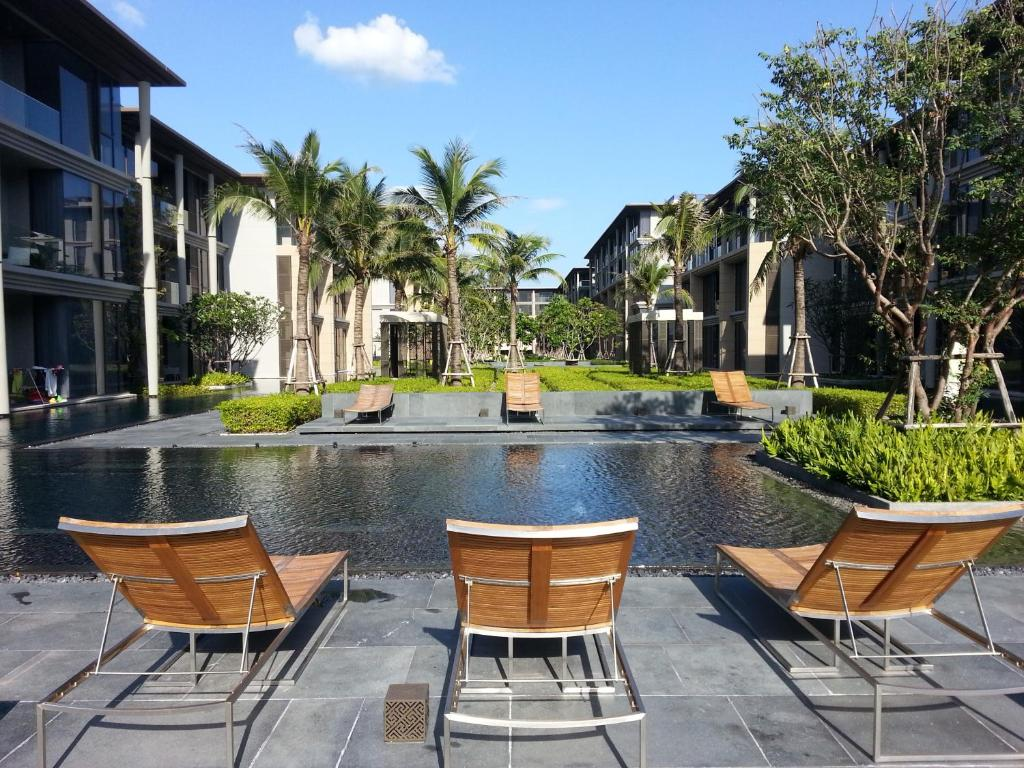 The swimming pool at or near Phuket Property inc.