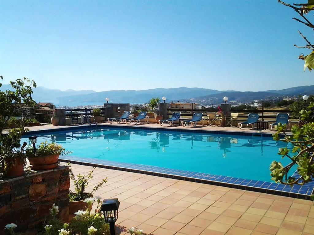 The swimming pool at or close to Villa Galini
