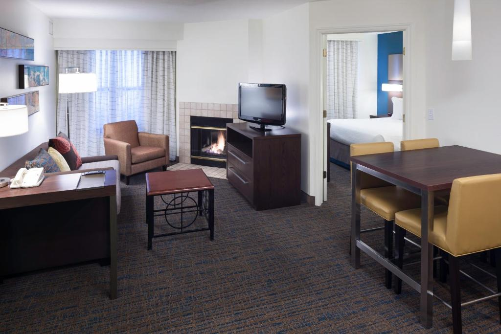 A room at the Residence Inn by Marriott Provo.