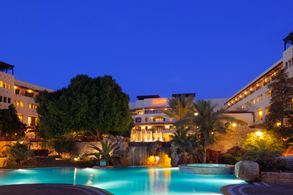 The swimming pool at or near Dead Sea Marriott Resort & Spa
