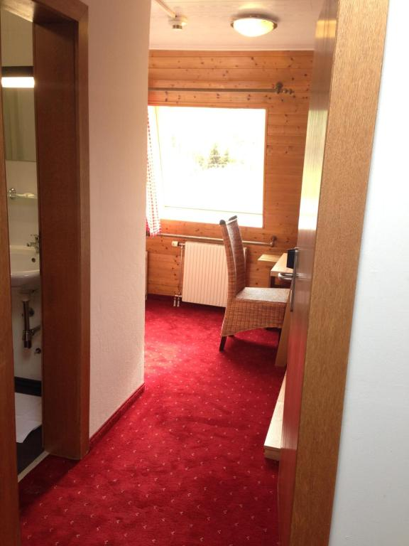 Ein Sitzbereich in der Unterkunft Hotel-Gasthof Restaurant Murblick