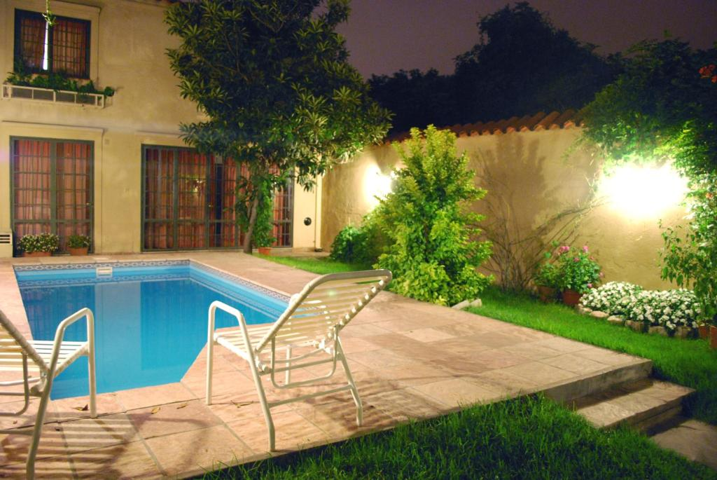 The swimming pool at or near Hotel del Antiguo Convento