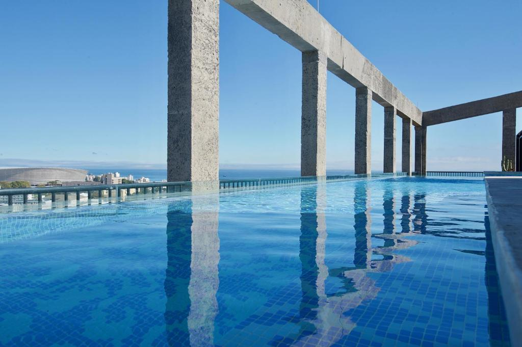 The swimming pool at or near The Silo Hotel
