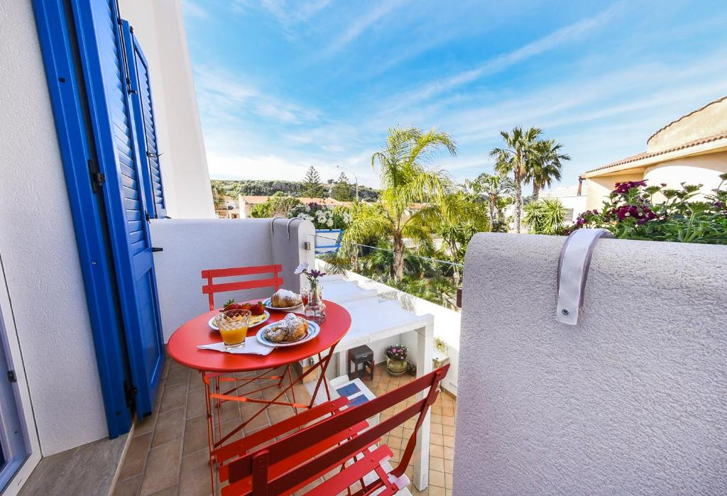 A balcony or terrace at Appartamento Daniela