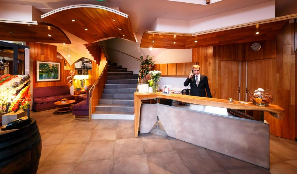 The lobby or reception area at Le Rosenmeer - Room Service disponible